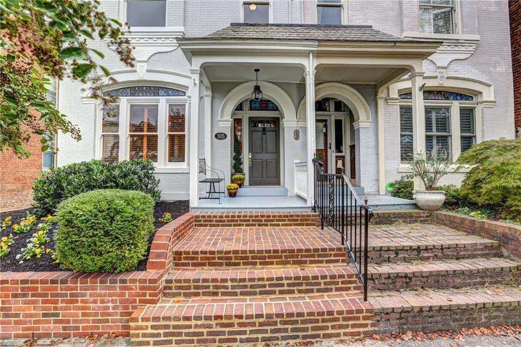 This traditional and architectural gem is nestled right in the heart of Richmond's Historic Fan Dist
