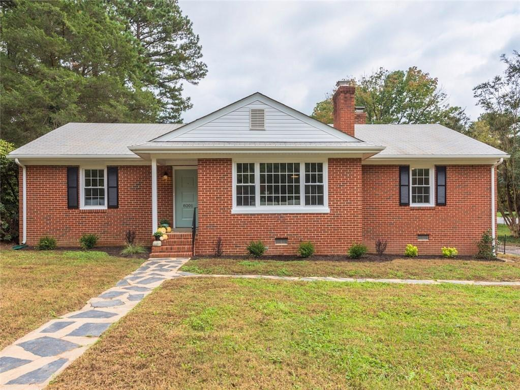 STUNNING renovation! This immaculate, light-filled 3 bedroom, 1.5 bath brick ranch is completely ren