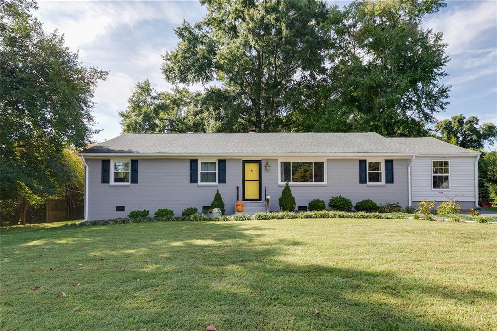 Welcome home to Old Gunn Estates. This sunny 3 bedroom, 2 full bath home offers warmth and charm in