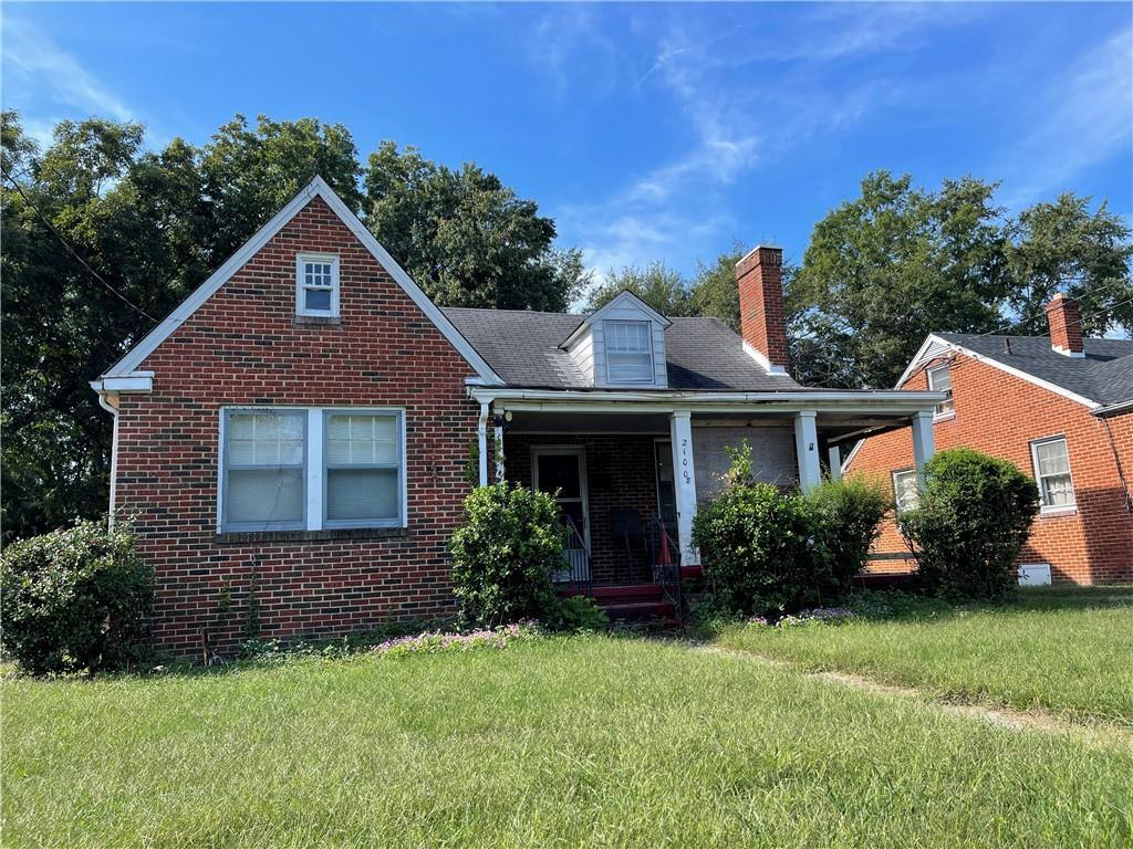 This home is just full of potential. This is a great investment opportunity. Come check out this 3 bedroom, 1.5 bathroom brick home that is within walking distance of Virginia State University. The home needs TLC; new heat pump was installed a few years ago. Home is strictly sold in as is condition.