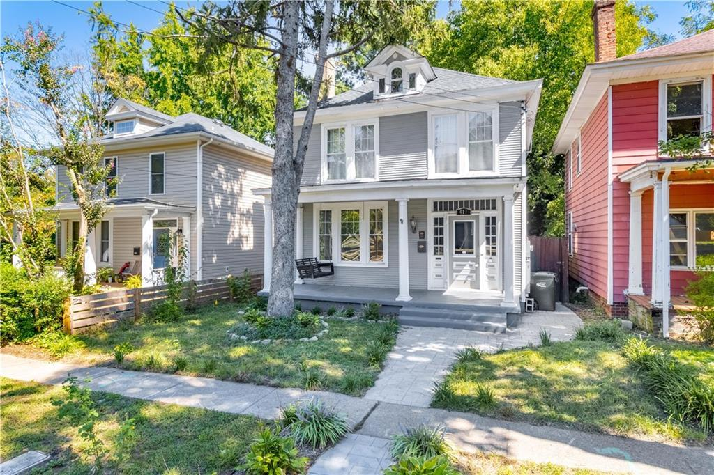 Charm and character abound in this historic 1921 Woodland Heights Home! Nestled in the perfect locat