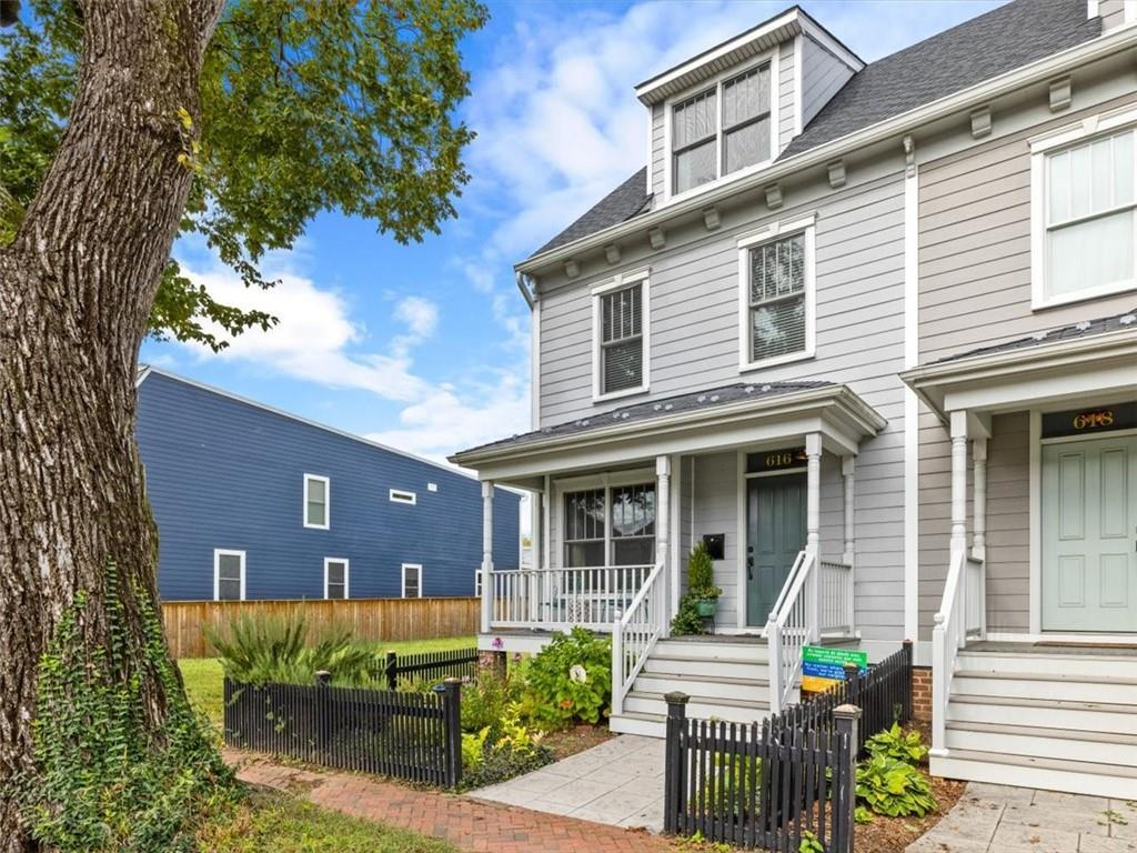 Beautifully constructed in 2015, and bursting with craftsman details, 616 N. 31st combines modern se