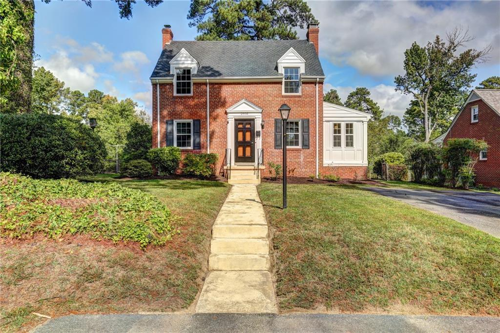 Wonderful Fully Renovated All Brick Georgian Colonial Home which showcases Tons of Character with Be