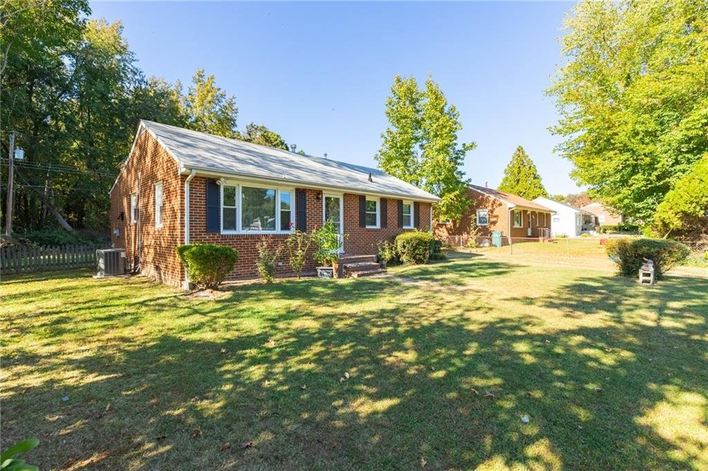 Welcome home to this charming low maintenance, all brick ranch home.  Enjoy fresh paint and beautifu