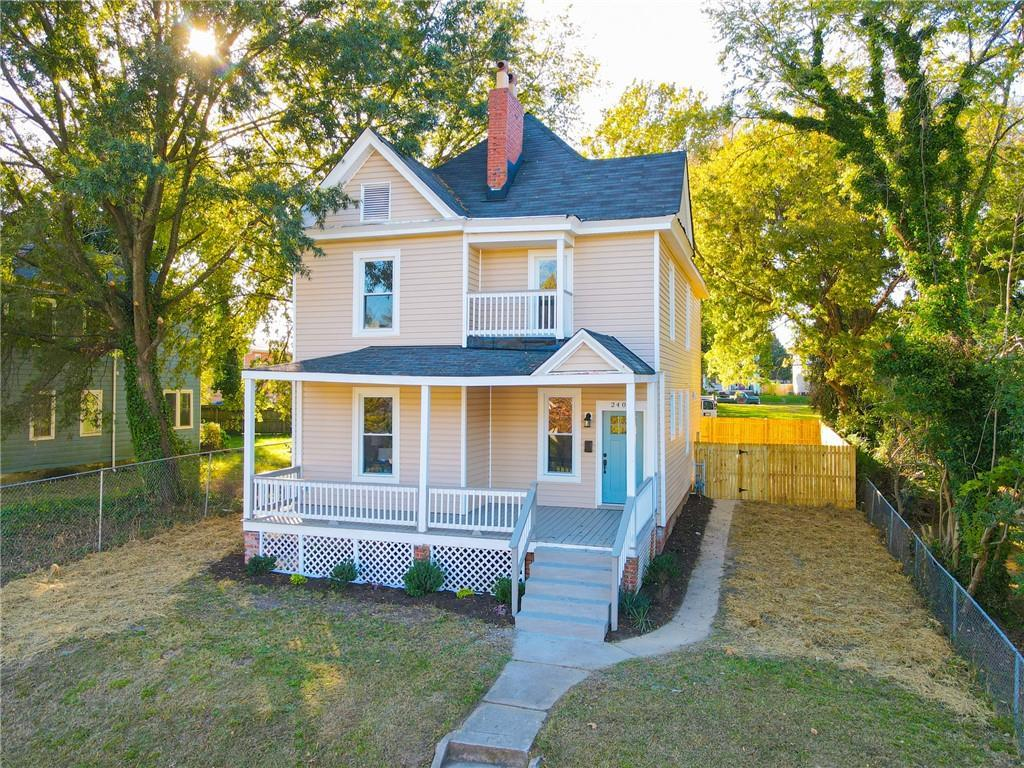 Stunning Historic Renovation in Barton Heights! This 4 bedroom 2.1 bath house has been completely re