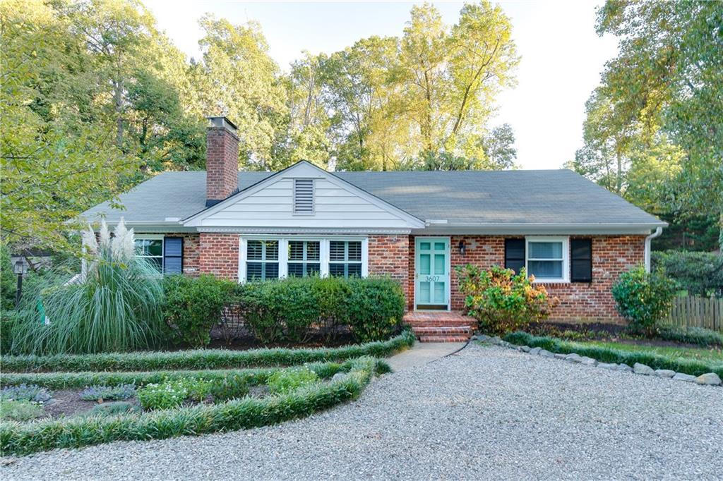 Come visit 3607 Pinebrook Drive - a wonderful brick ranch located on a beautiful lot with lovely, ma