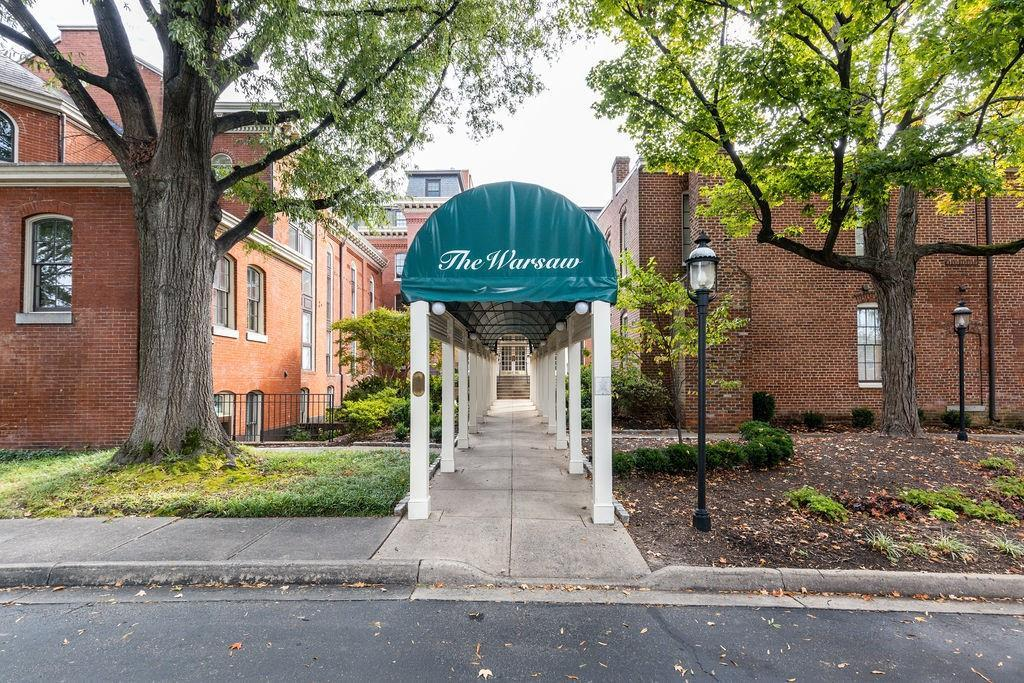 Rare offering at The Warsaw Condominiums! A truly unique Richmond Treasure that offers privacy & lus