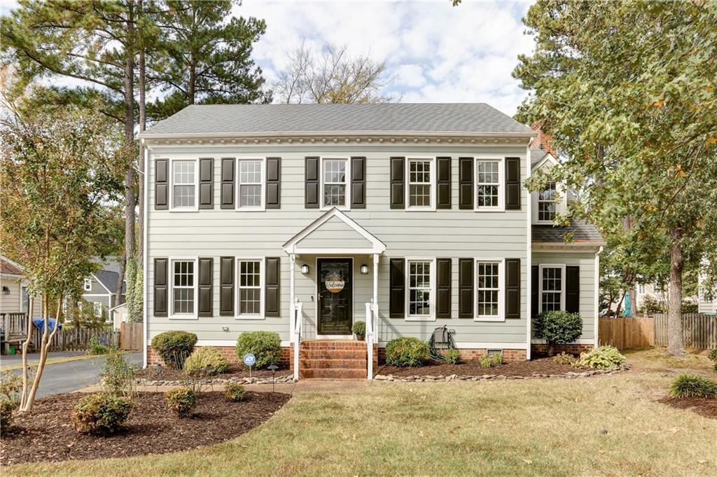 Fantastic Colonial in popular Short Pump located just off of Church Road! This lovely home features