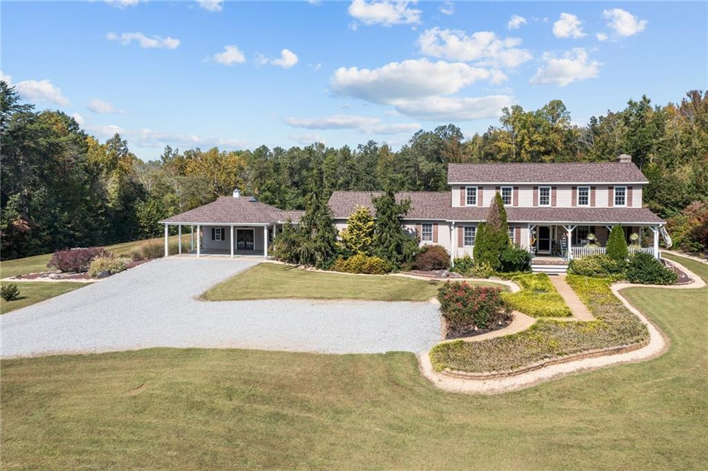 PRIVATE OASIS on Approximately 35 ACRES in GOOCHLAND.  1ST FLOOR PRIMARY SUITE.  Spacious Kitchen wi