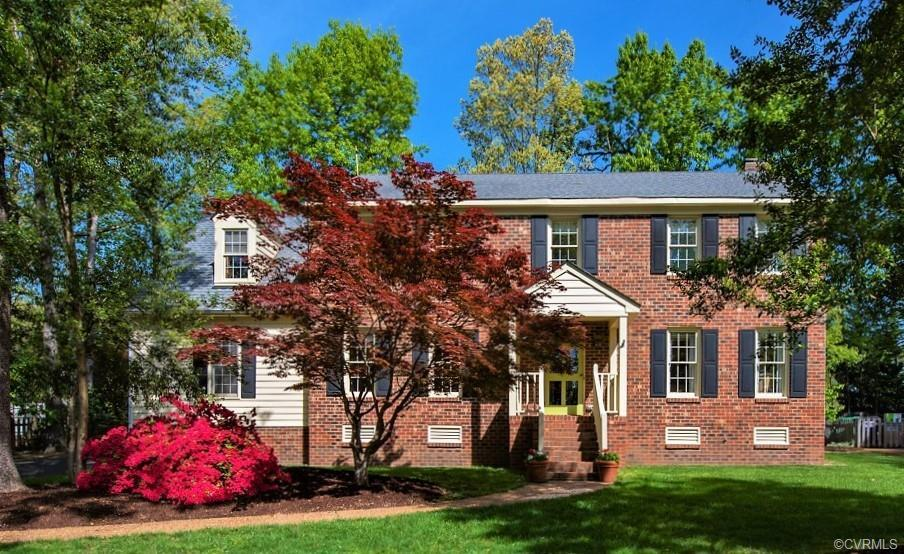 Exceptional Brick Front Colonial in Waterford with Vinyl Siding/Trim & Enduring features of Hardwood