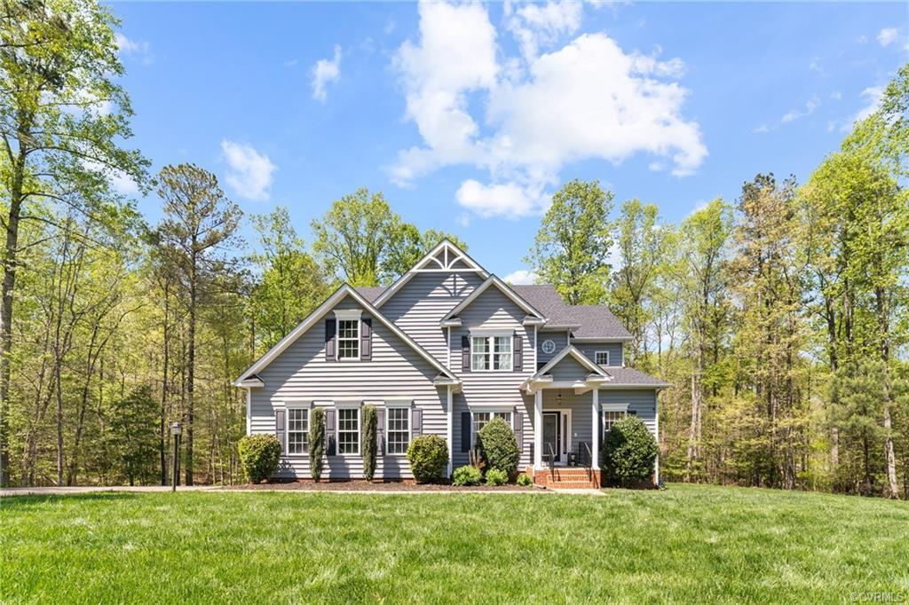 Welcome to a beautiful home located on 3 acres in the highly sought after neighborhood The Highlands