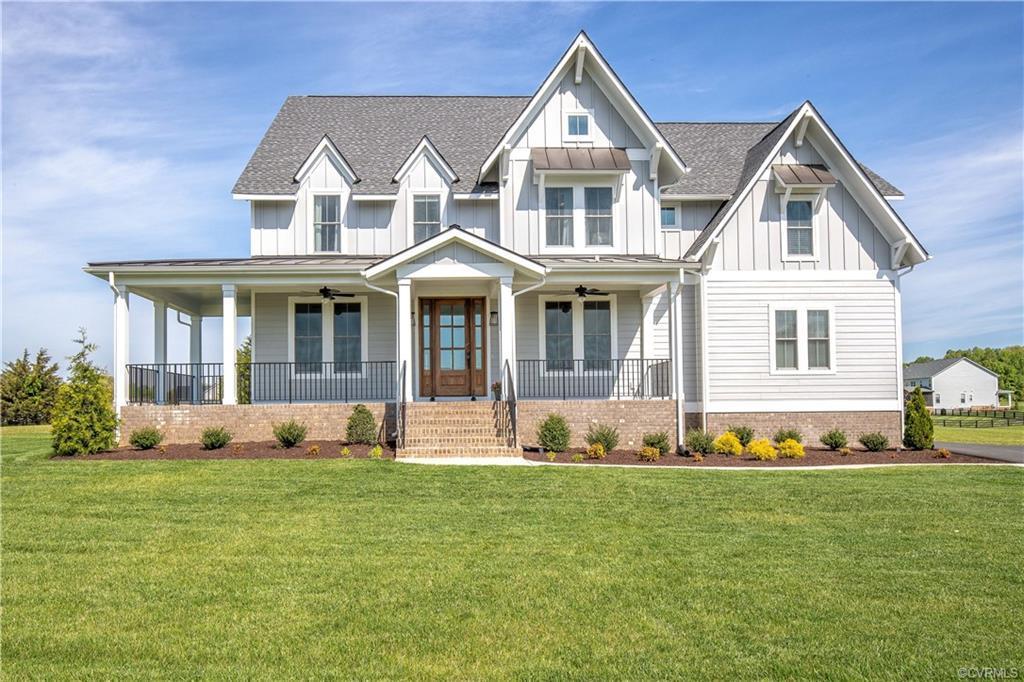 Exceptional 5 bedroom, 4.5 bath home on 4+ acres in Tilman's Farm by Timbercreek!  Large wrap around