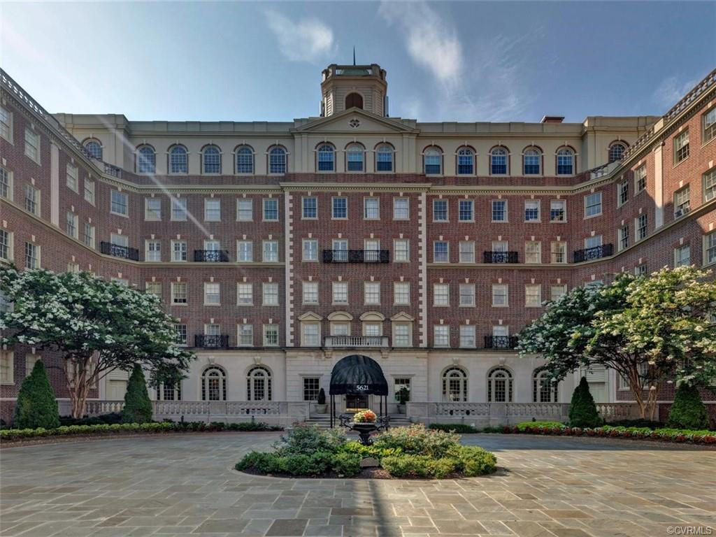 Own a part of Richmond History! This luxury condo is located in the iconic Tuckahoe Condominium Buil