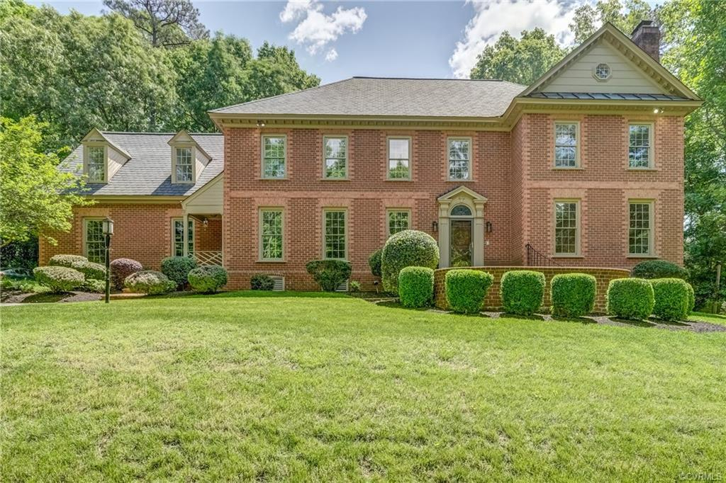Beautiful Custom Built William Stinson All Brick Home on a Very Private 1 Acre Lot in the Exclusive