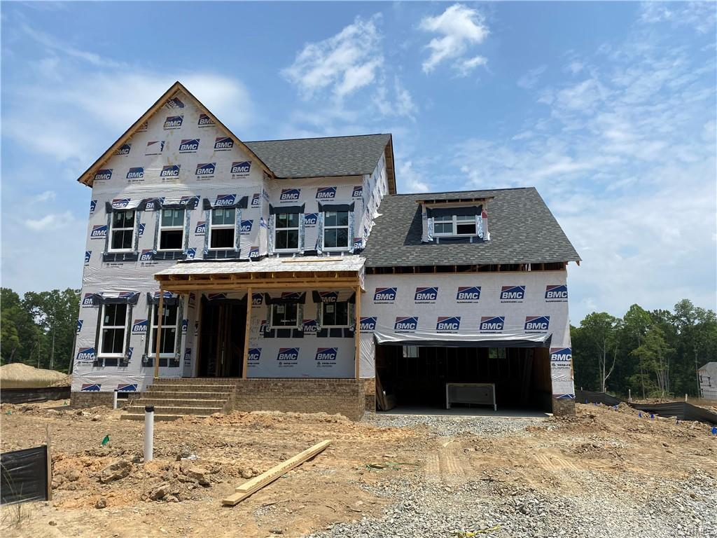 Lifestyle Home Builders presents the Olvia Farmhouse! You are welcomed by a generous foyer that has