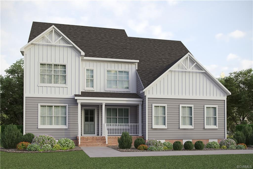 Meet the Waterford. This home checks all the boxes: two-story foyer, first floor study, two-story fa