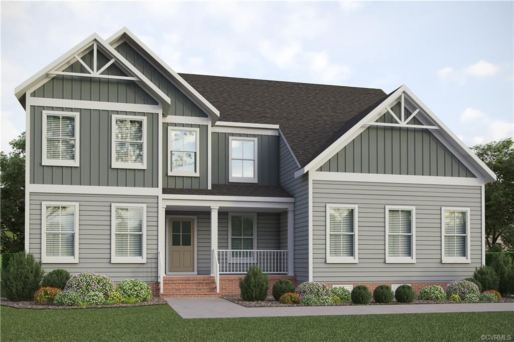 Beginning construction soon in Reed Marsh by Boone Homes! Meet the Milan. This first floor primary o