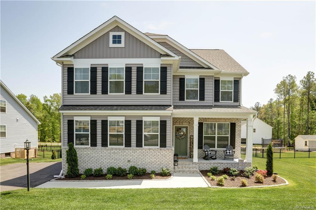 MUST SEE! MODEL LIKE home in award-winning Harpers Mill. The Drexel floor plan is an amazing family