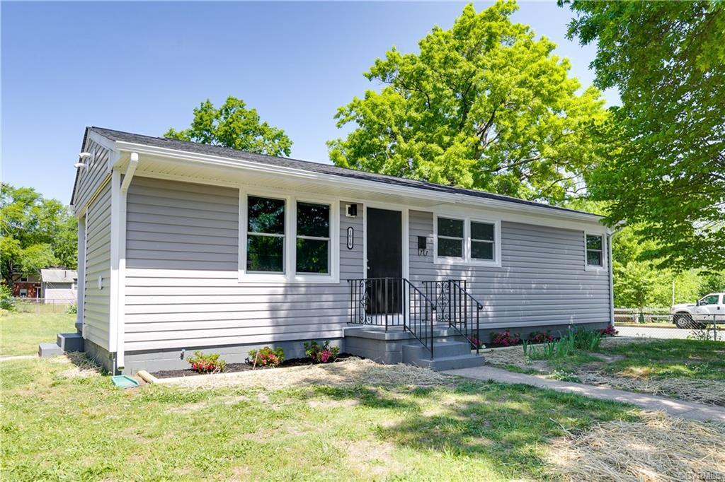 Move-in ready Ranch in North Church Hill! Freshly renovated with new roof, vinyl siding, windows, ki