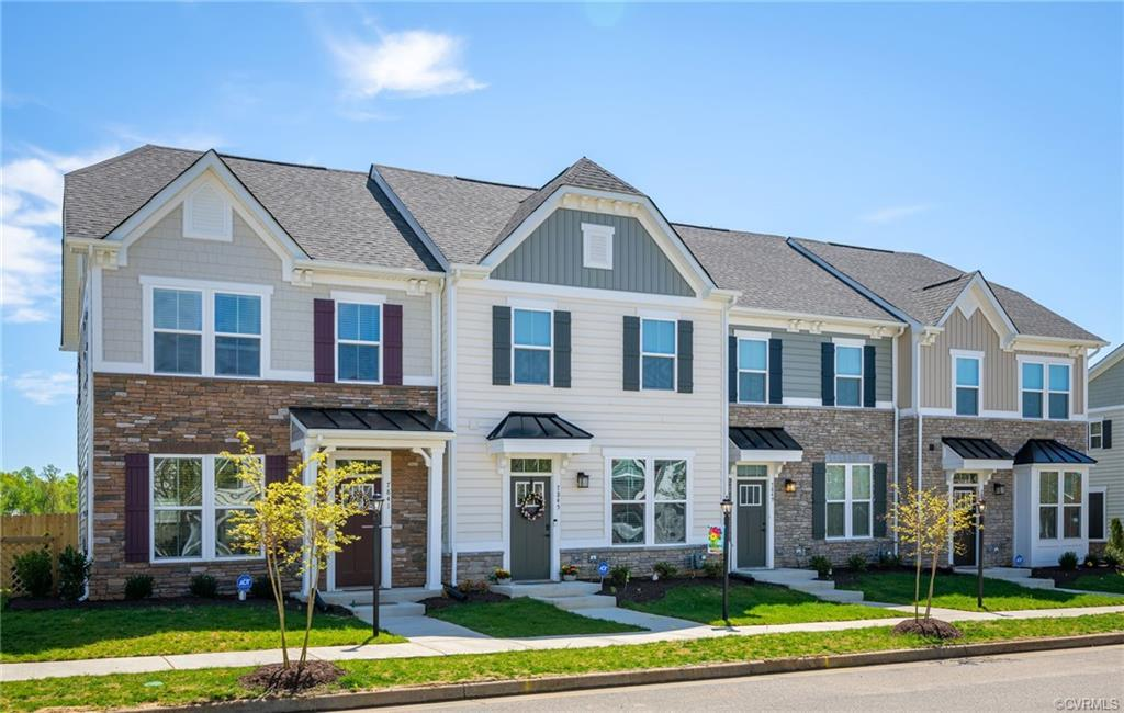 HENRICO's NEWEST TOWNHOME COMMUNITY - GROVE POINT! Lots of living space and an abundance of natural