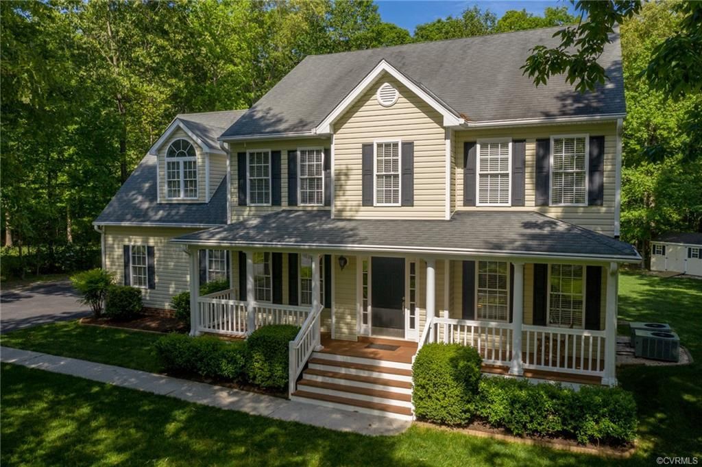 Welcome to this amazing transitional home situated on a park-like 1-acre lot. As you enter the home