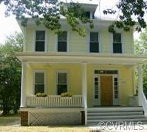 Beautiful 1921 Ginter Park Home. Wide front porch on a shaded street. Large detached garage and off-