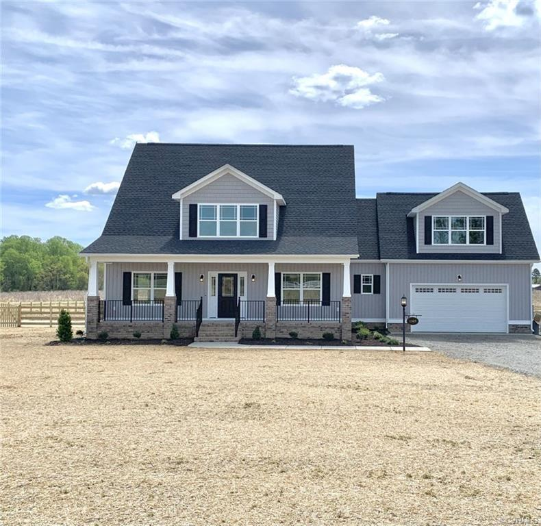 """Nearly 1.5 Acres in the Atlee High School District!  Build this featured """"Canter"""" plan, or one of ou"""