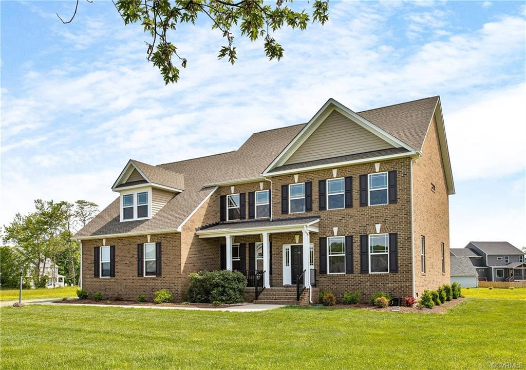 Welcome Home! This is a beautiful all Brick 2 story home on a gorgeous 1.1 acre lot in Hanover high
