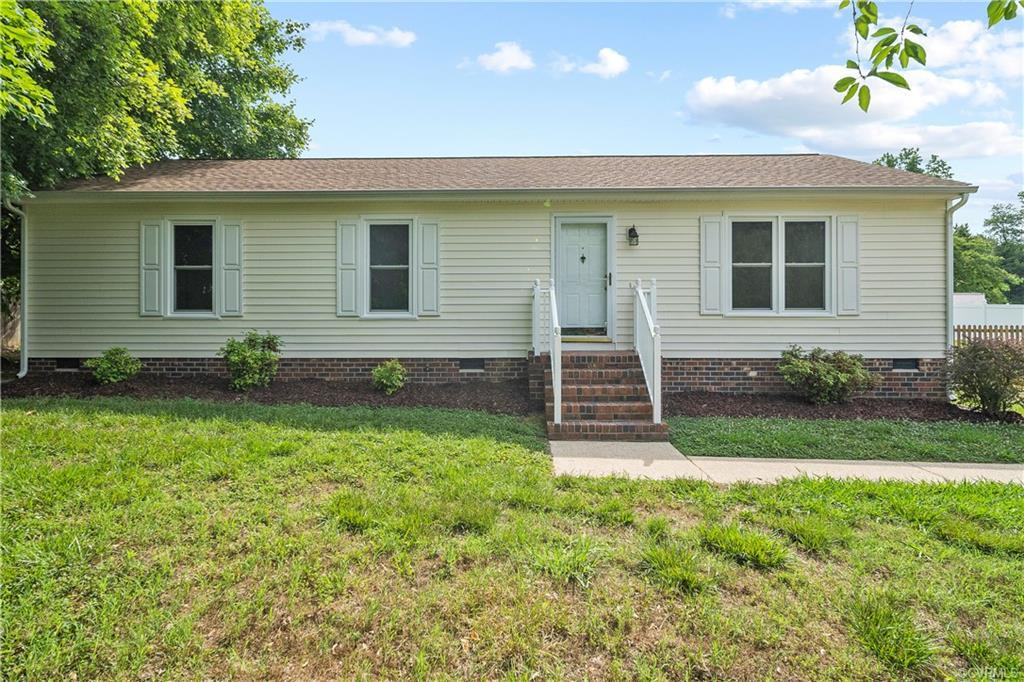 Welcome to 8310 Fieldshire Dr! This 3-bedroom, 2-bath ranch style home is 1,248 square feet of one l