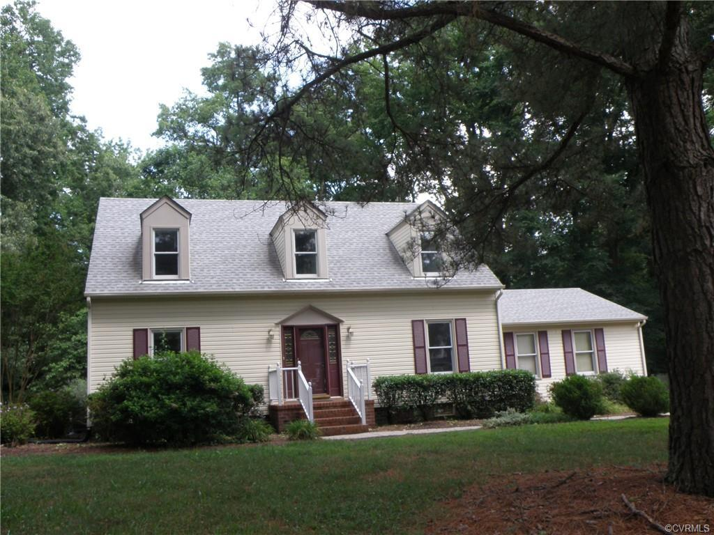 What a wonderful property!  Located in the heart of Varina on a quiet, 1.55 acre wooded, cul-de-sac