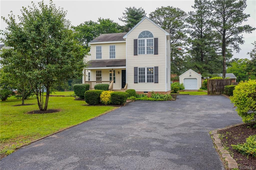 Welcome to this beautiful two-story home in Ivy Springs.  This updated and freshly painted 3 bedroom