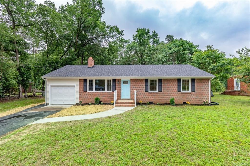 This immaculate one-level ranch has undergone a complete renovation with high-end finishes and all n