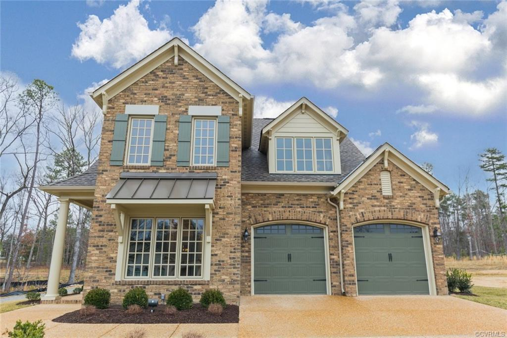 Boone Homes presents the Ashmont in Little Meadows at Chickahominy Falls, featuring an open floorpla