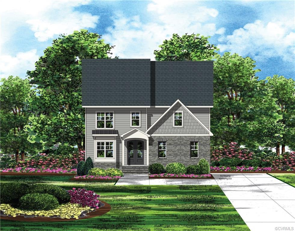 QUICK DELIVERY! NEW CONSTRUCTION in Woodson Hills at Bacova – a premier address in Glen Allen! Bacov