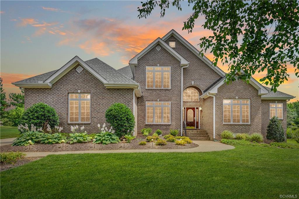 Welcome to 12129 Morestead! This Wyndham home is situated on the 12th hole!! This home features a fu