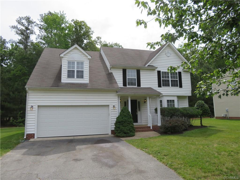 Reconditioned Colonial home with 4 bedrooms, 2 full baths and 1 half bath located in the Ash Creek n