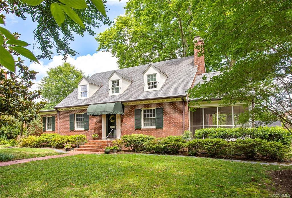 Welcome to 3211 Noble Avenue in beautiful Ginter Park! This 1951 Cape Cod offers hardwood floors throughout, 3 full bathrooms, large formal rooms, screened porch, slate patio and a beautiful rear fenced yard. Conveniently located in the Northside of Richmond where you can access bike lanes and stroll on sidewalks under the canopy of mature trees. Minutes from downtown, the Diamond, shops and restaurants in both Bellevue and Brookland Park. Enjoy all the city has to offer in this beautiful and historic neighborhood.