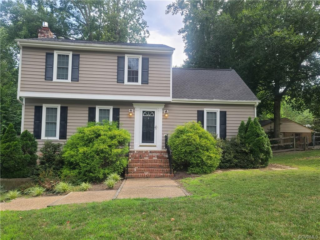Lovely Home in Atlee High School District has 4 Bedroom, a 1st Floor Master, Finished walk out basem