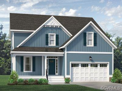 The Corbin Farmnouse UNDER CONSTRUCTION IN BISHOPS PARK!  This home features a 3/4 front porch with