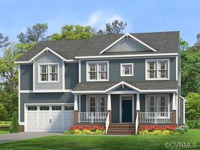 The Hartfield B2 Craftsman is UNDER CONSTRUCTION IN BISHOPS PARK!  This AMAZING home includes a full
