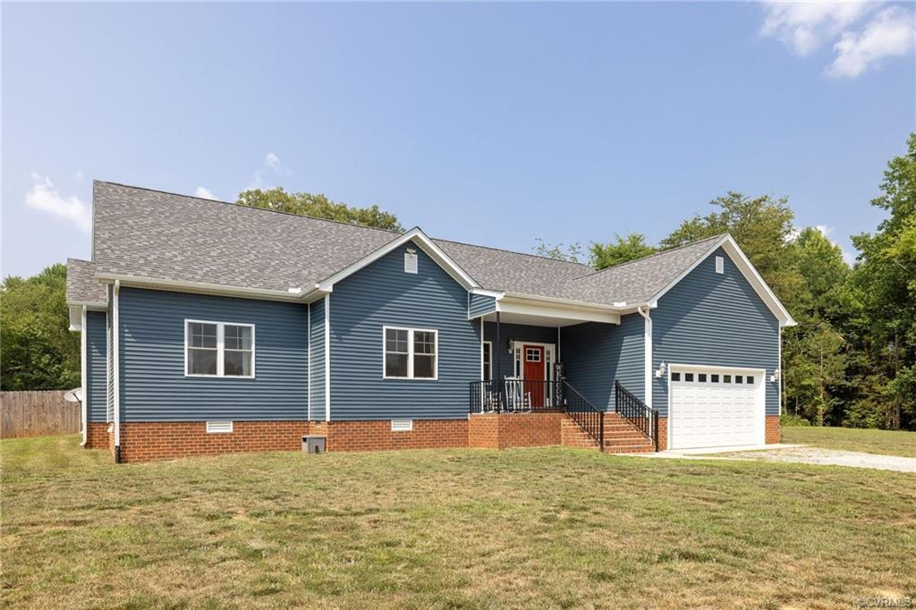 Magazine worthy ranch style home on 3 acres w/ 5 bedrooms!! The stunning property offers everything