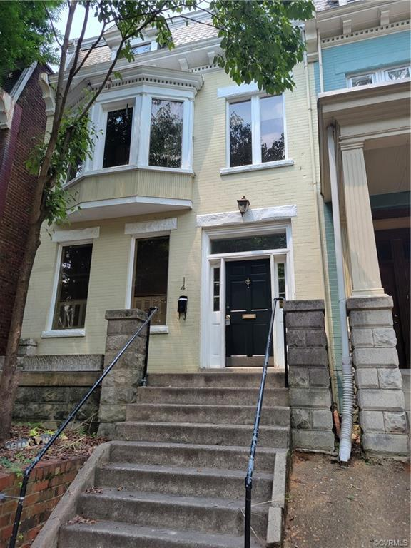Super opportunity to live on this very peaceful block in the fan. this home is a blank canvas and re