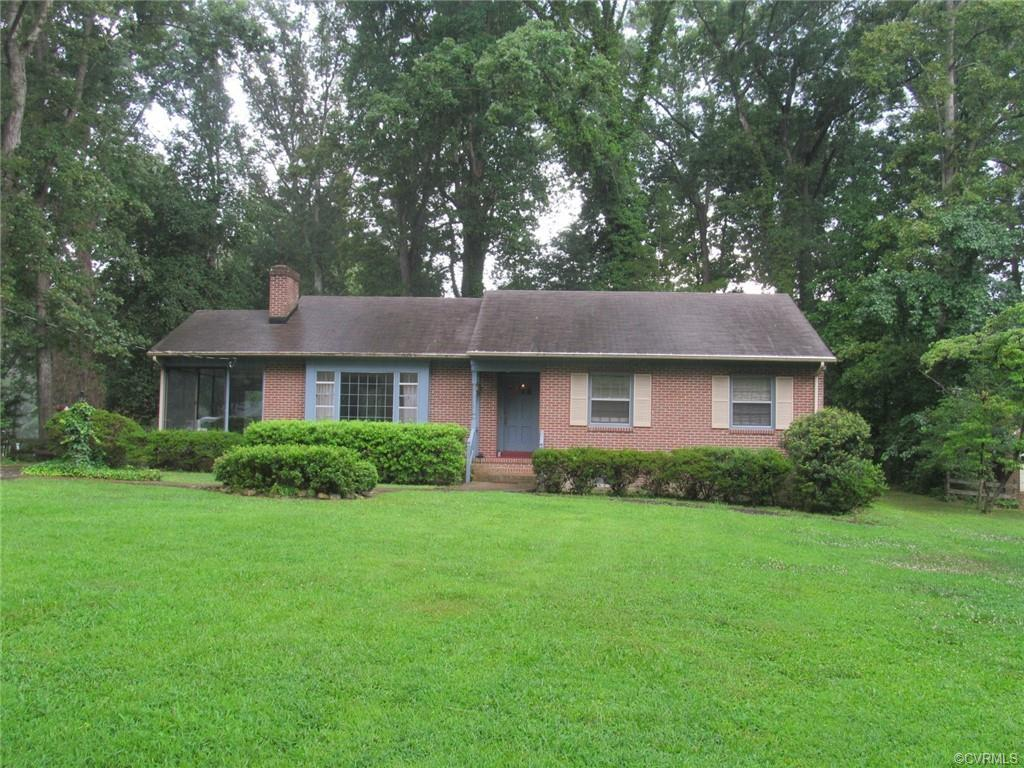INVESTORS-HOMEOWNERS Take a look at the potential for this one owner all brick ranch off Forest Hill