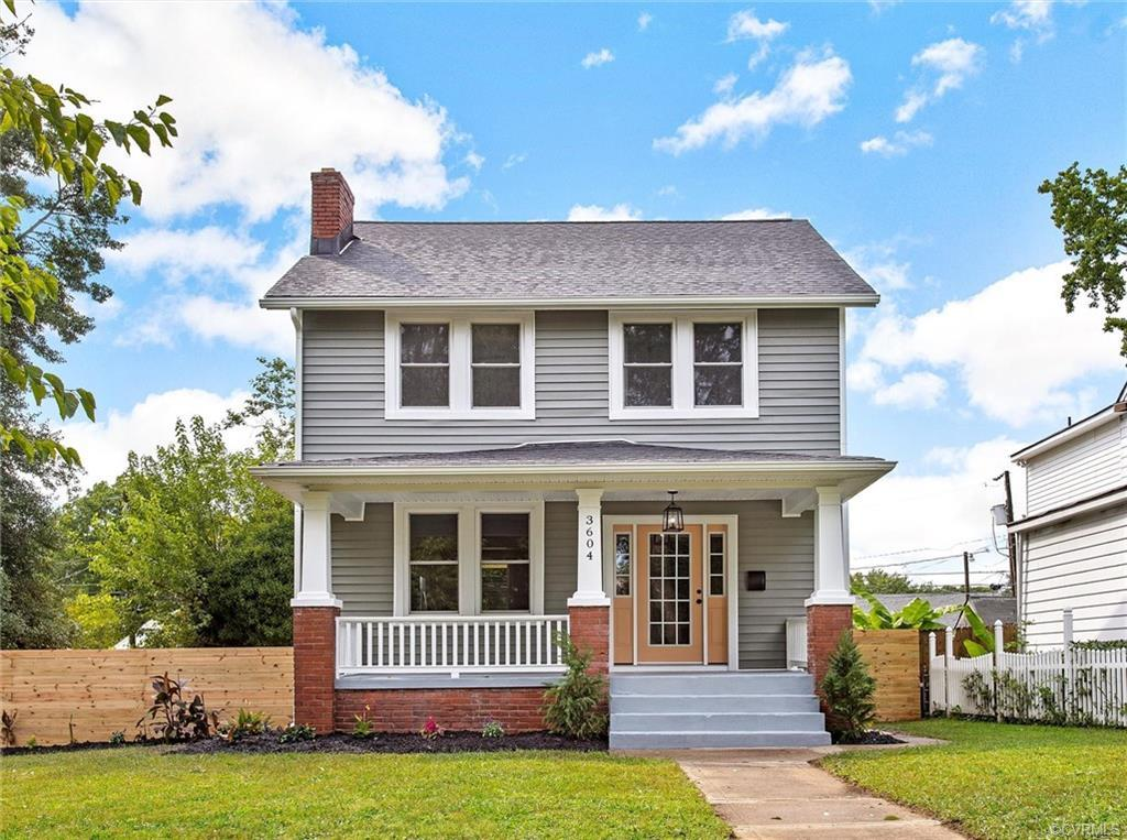 Come see this Beautiful Renovation in the Highland Park Neighborhood of Richmond! The best of histor