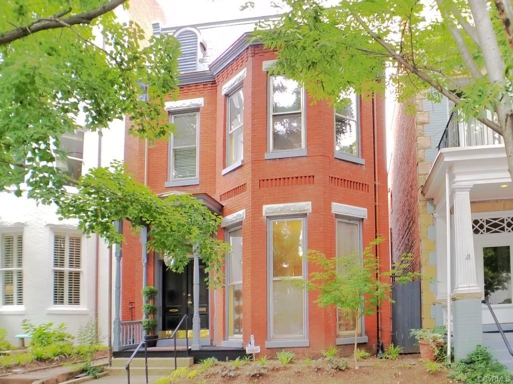 Walking through the vestibule of this 1892 home, you enter a spacious foyer. Off the foyer are the a