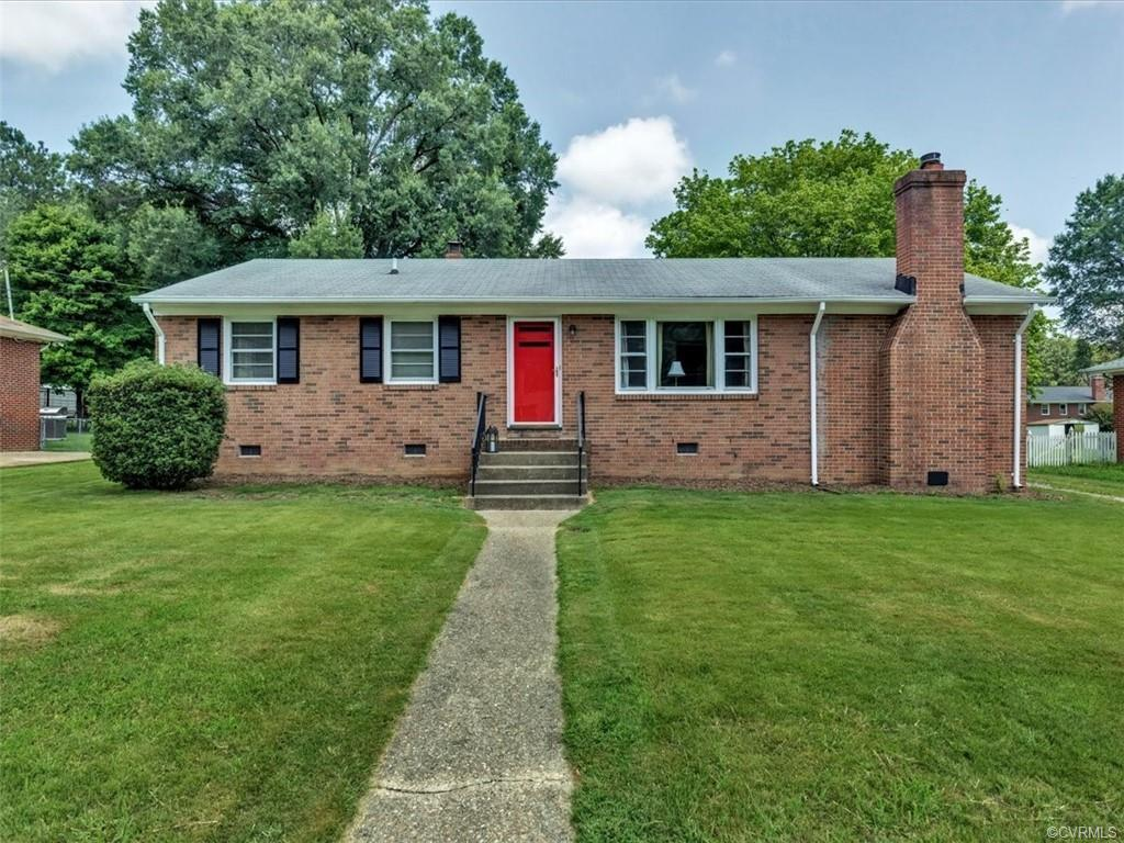 Welcome to this bright 3 bedroom 1 1/2 bath all brick ranch style home located just minutes to Chipp