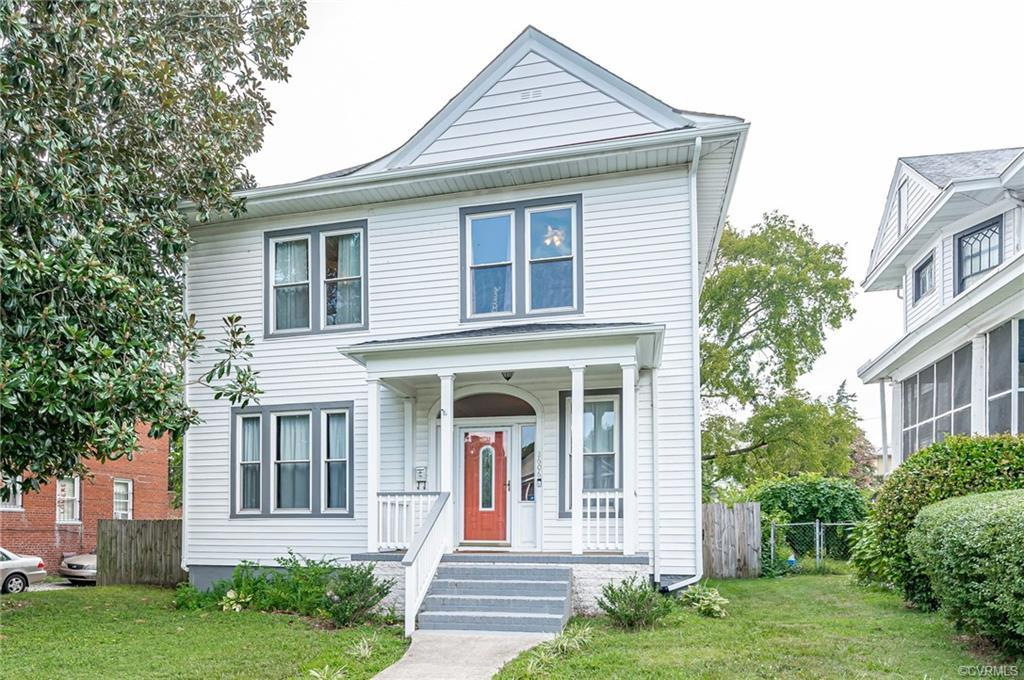 Welcome home to this beautiful four square in Barton Heights! This home retains its original charm w