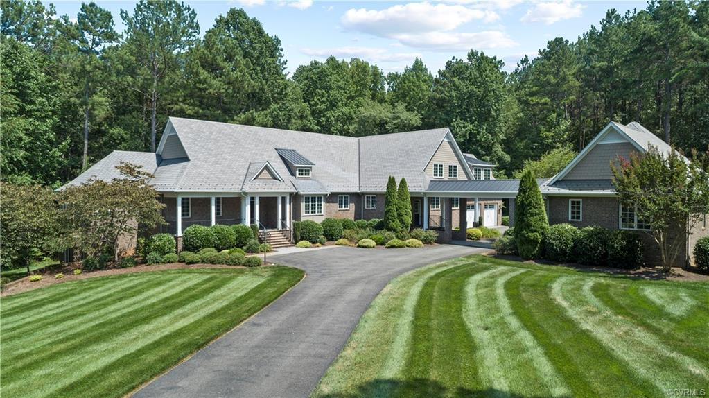 Extraordinary Custom-Built Home Perfectly situated on a Private 2 Acre Lot overlooking The Foundry G