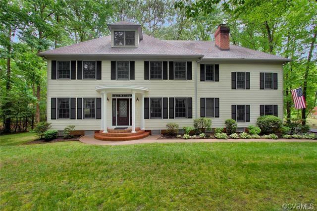 Gorgeous 3 bedroom 3 full bath Colonial, beautifully maintained and move in ready on private cul-de-