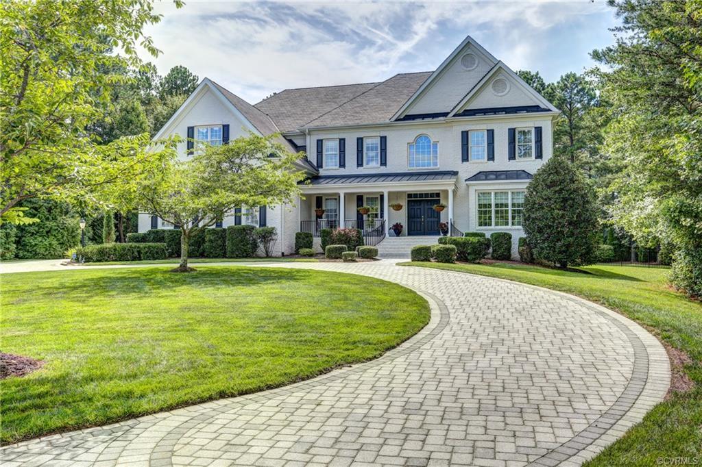 STUNNING CUSTOM ESTATE HOME nestled on 1.84 acre cul-de-sac lot in the desirable Henley neighborhood